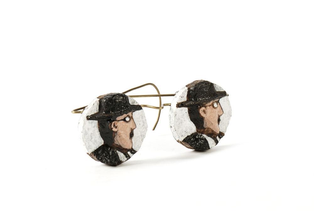 RINOCERONTE, Óculos Fernando Pessoa, 14,5 cm.