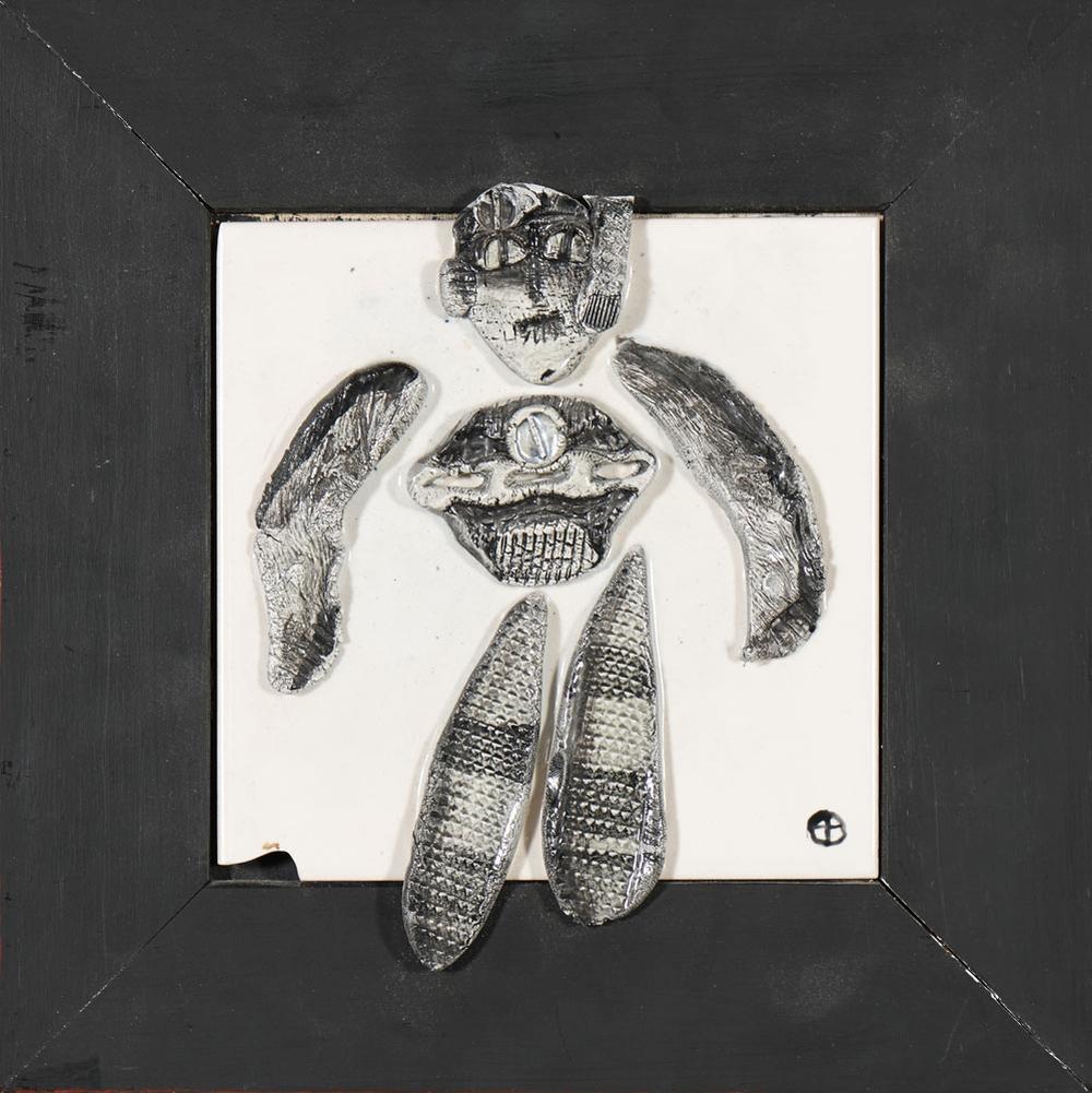 MARIA DE FREITAS, azulejo, 15 x 15
