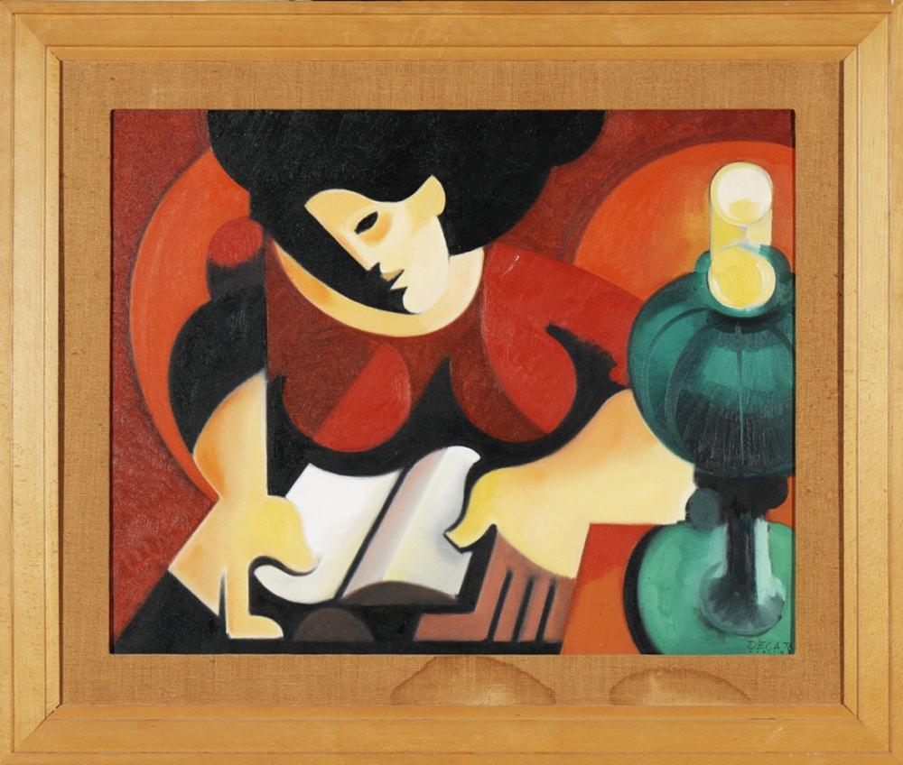 Paulo Guilherme, óleo s/ tela, 73 x 92cm