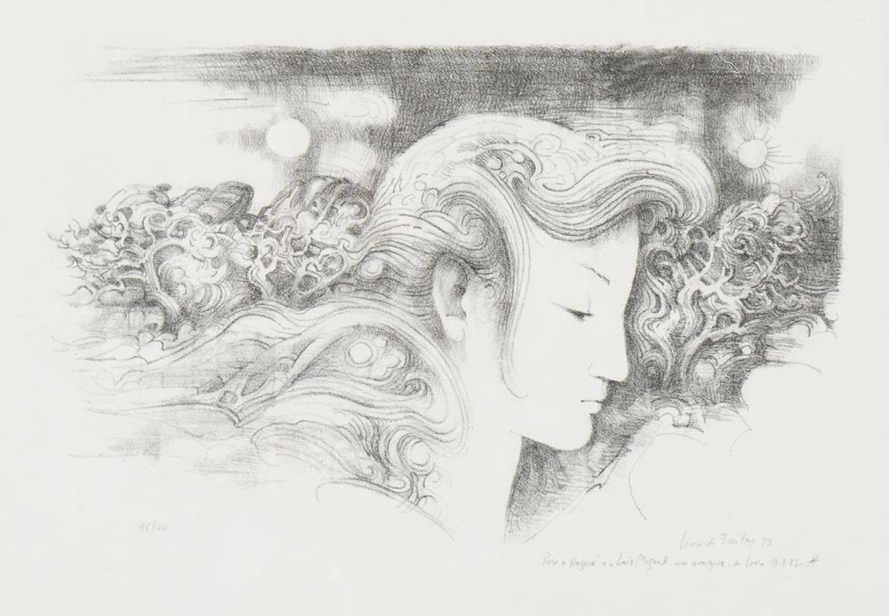 LIMA DE FREITAS, Múltiplo s/ papel, 32 x 46 cm