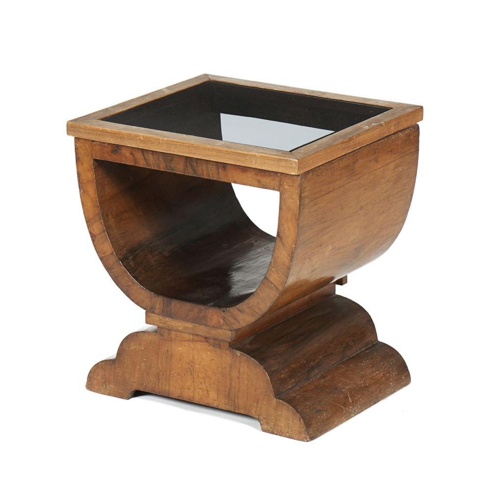 Pequena mesa de apoio, modelo Art Deco