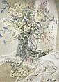 Natureza morta russa, assinado, óleo sobre tela, Elena  Petrova, Click for value
