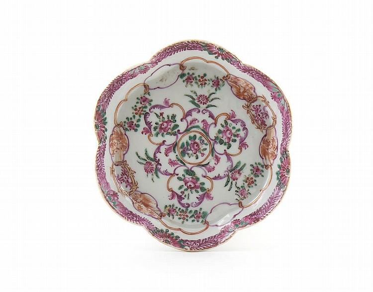 Covilhete em porcelana chinesa da CI