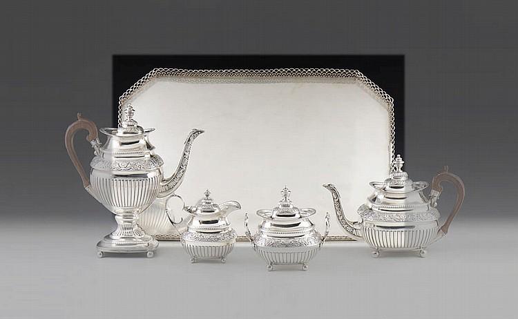 Tabuleiro de gradinha em prata 833%, P.4154 g.