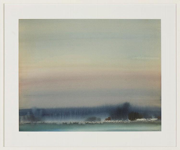 ISIDORO, Jaime, Aguarela s/papel, 48 x 61 cm.