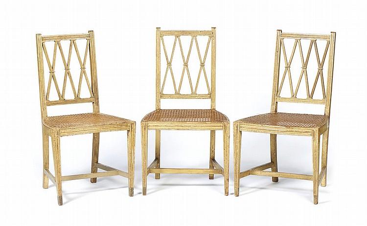 Três cadeiras neoclássicas marcadas RPC (3)