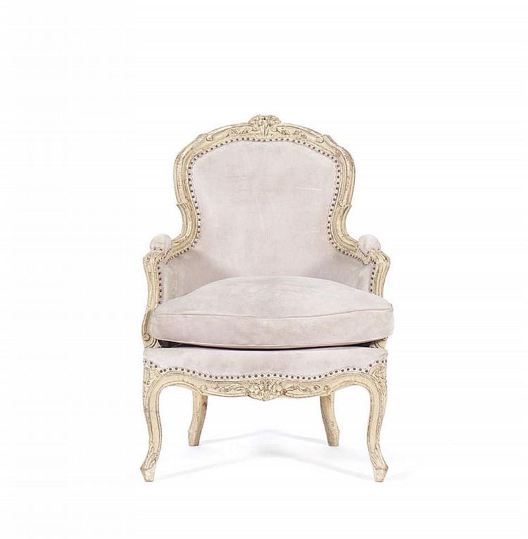 """Pequeno """"fauteuil"""" Luís XV"""
