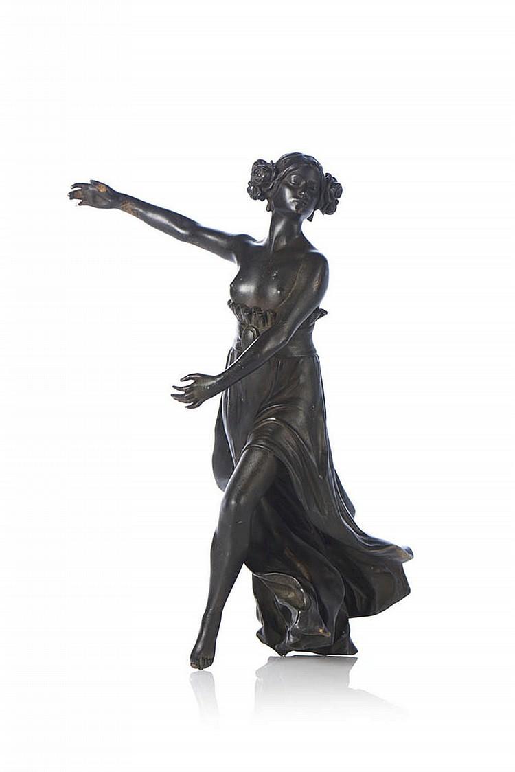 Bailarina, escultura em bronze
