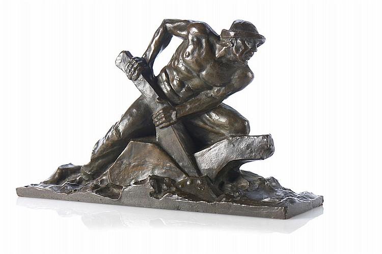 Alegoria, Escultura em bronze