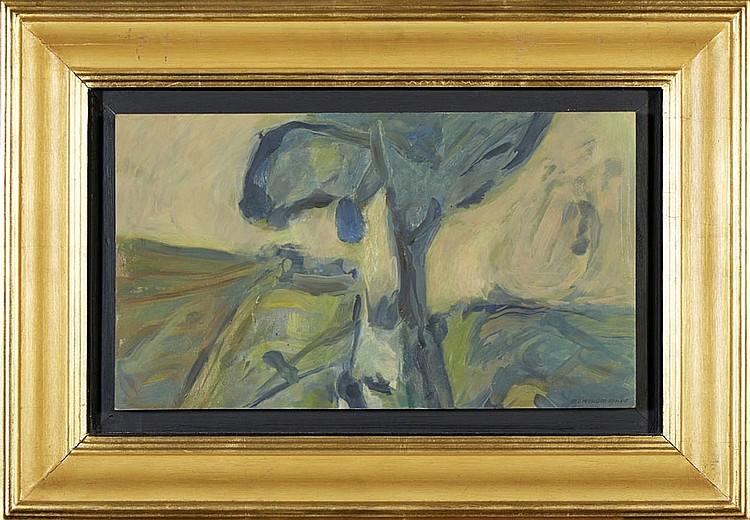 DOMINGOS PINHO, Óleo sobre madeira, 28 x 49 cm