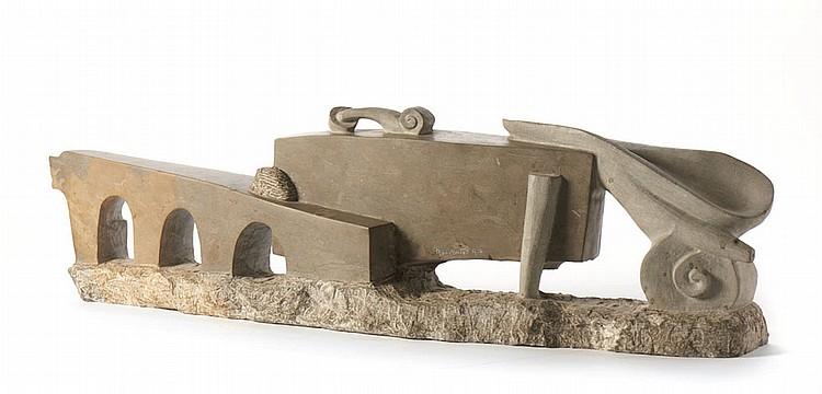 RUI MATOS, Escultura em pedra