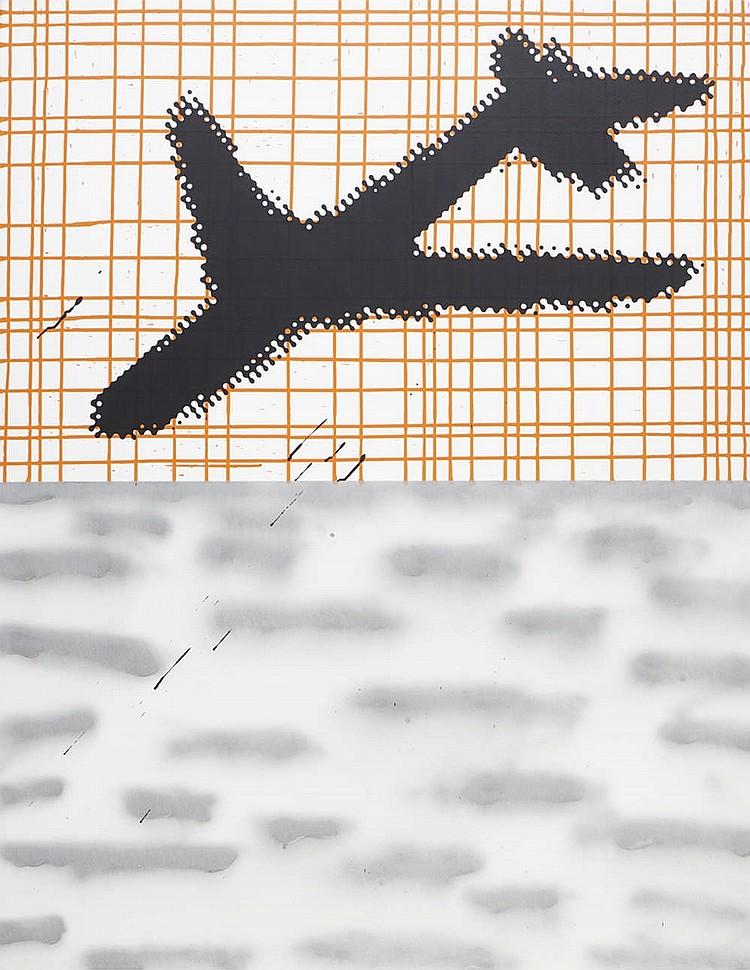 RUI SERRA, Acrílico sobre tela, 146 x 114 cm.