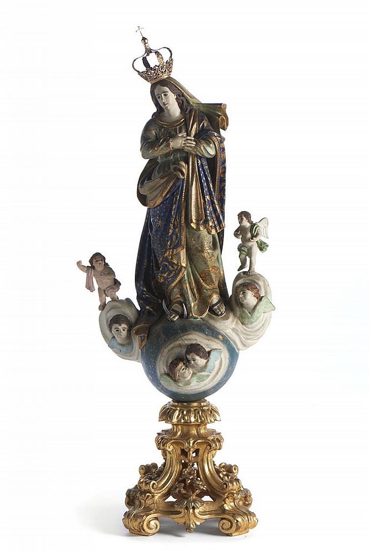Nossa Senhora da Assumpção, escultura do séc. XIX