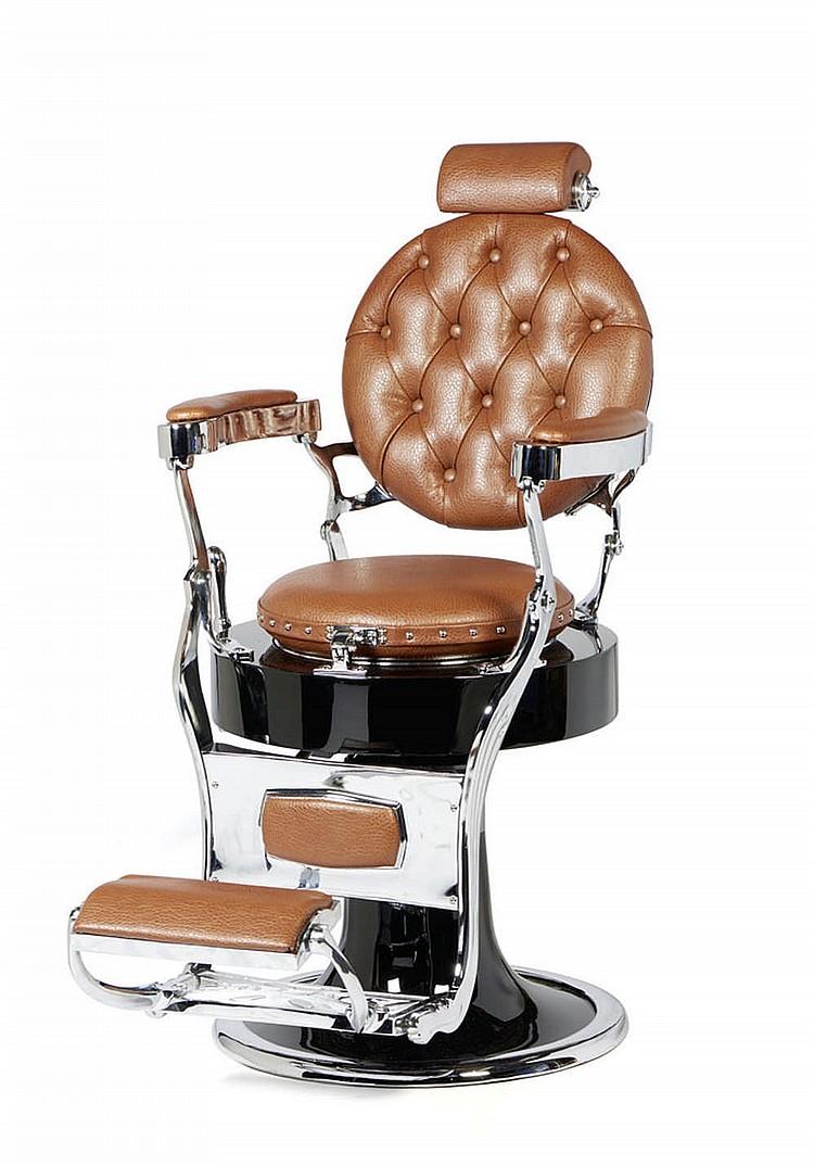 Cadeira de barbeiro. SANTOS LISBOA