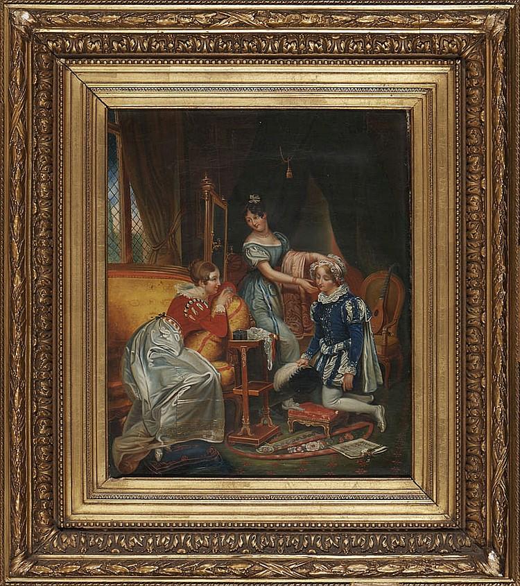 Autor não identificado, Óleo sobre tela, 45 x 37cm