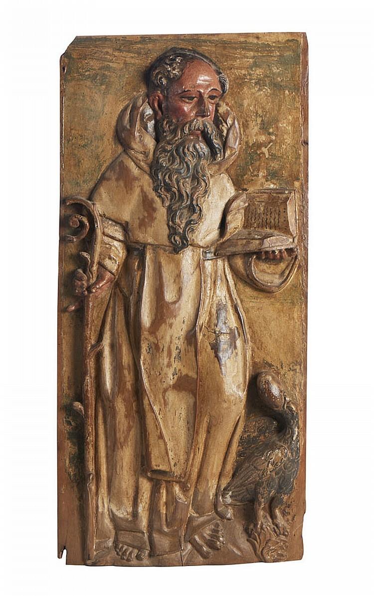 Placa do séc. XVII em madeira, São Bento