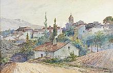 CASANOVA, Aguarela sobre papel, 30 x 46 cm.