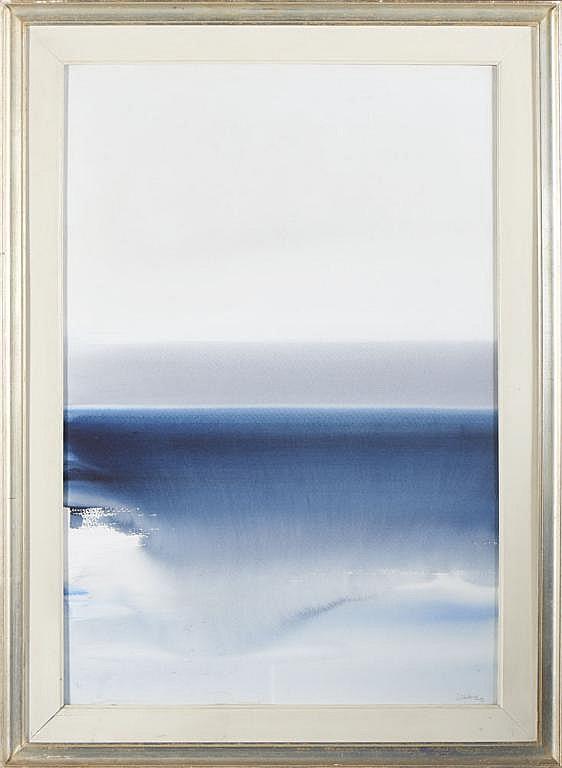 Jaime Isidoro, Aguarela sobre papel, 92 x 62 cm.
