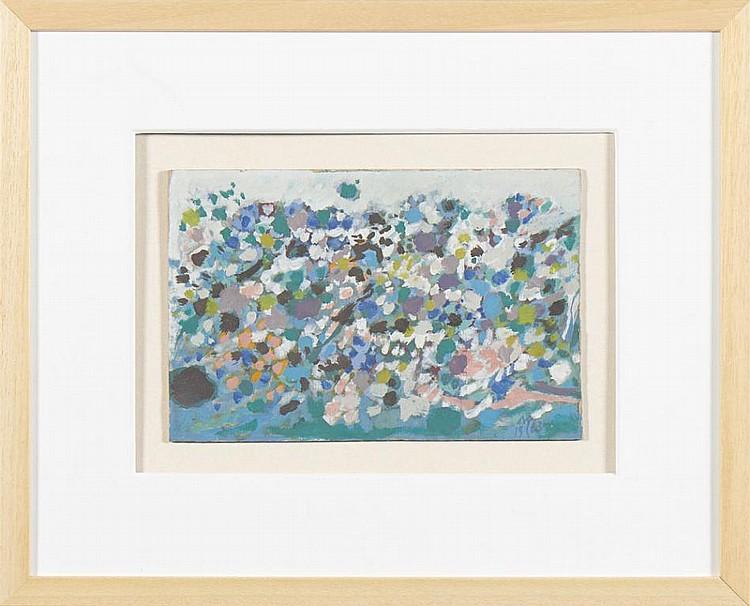 CARGALEIRO, mista sobre cartão, 17,5 x 26 cm.