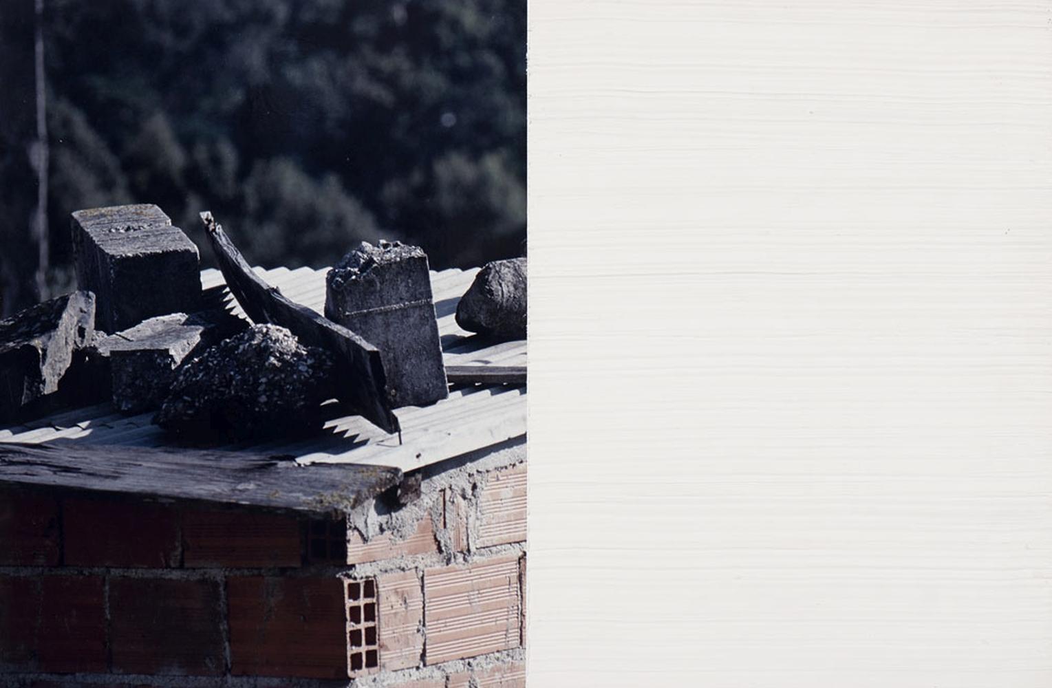 CABRITA REIS,mista s/fotografia, 50 x 75 cm.