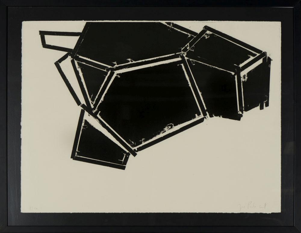 CROFT, José Pedro Croft, Gravura sobre papel