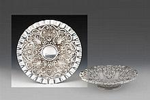 Salva de aparato em prata XIX/XX, 833%, P. 473g.