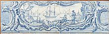 Painel de azulejos do séc. XVIII composto por 44