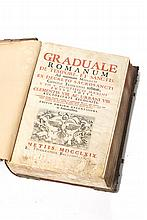 Graduale // Romanum... 1769. 1 vol. enc.