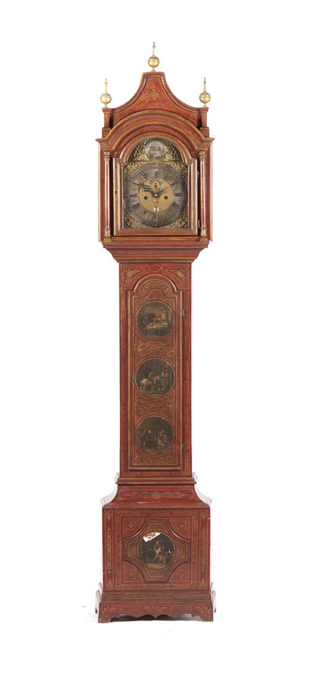 "Relógio de caixa alta ""S. Bartlett Norwich"""