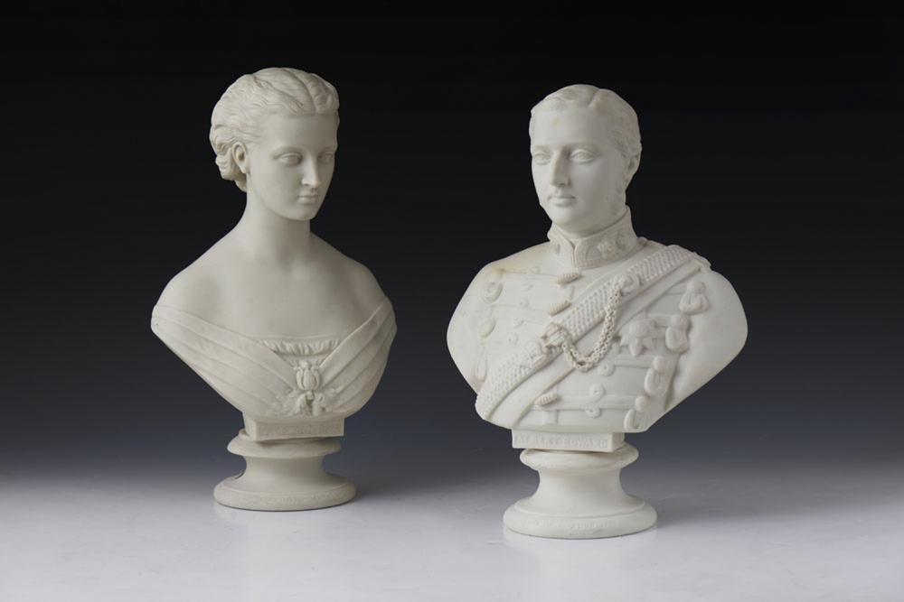 Eduardo VII e Alexandra bustos Copeland (2)