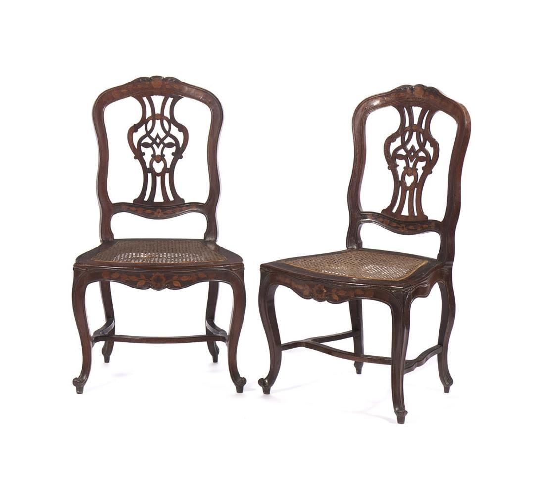 Conjunto de doze cadeiras do séc. XVIII (12)