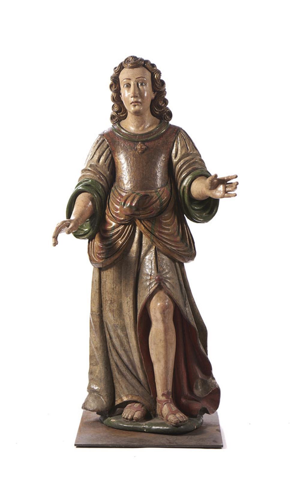 Par de serafins, do séc. XVII/XVIII, madeira (2)