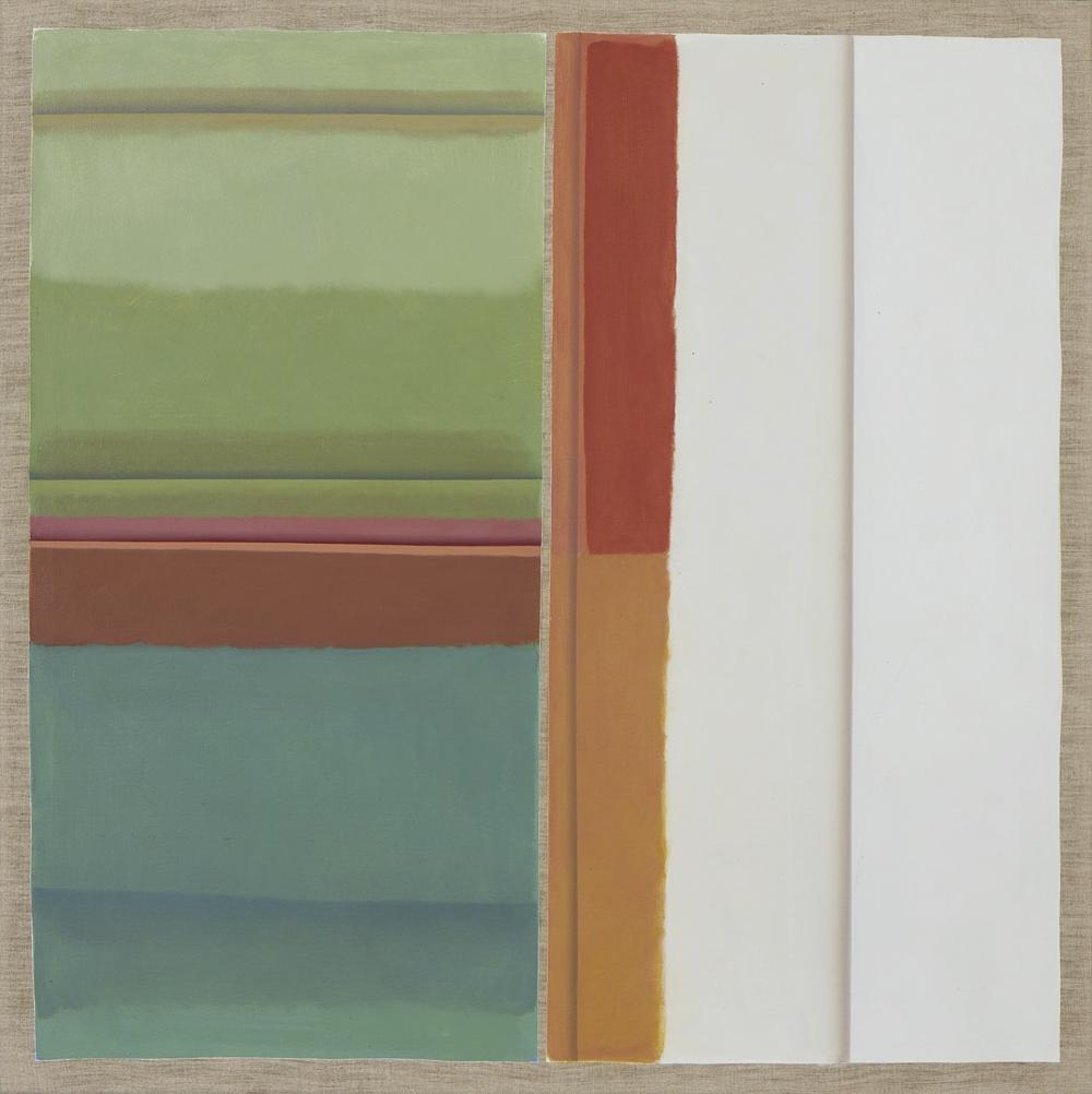 JORGE MARTINS, Óleo sobre tela, 80 x 80 cm.