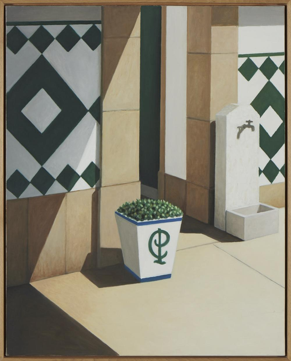 MANUEL AMADO, Óleo sobre tela, 92 x 73 cm.