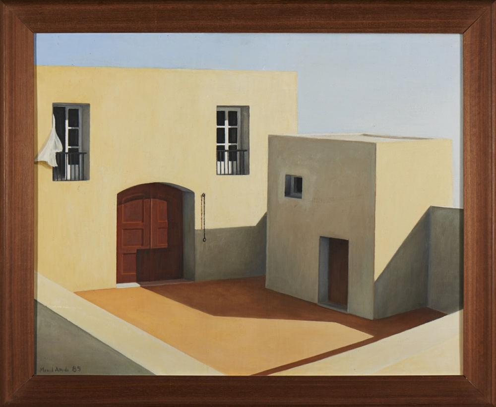 MANUEL AMADO, Óleo sobre tela, 80 x 60 cm.