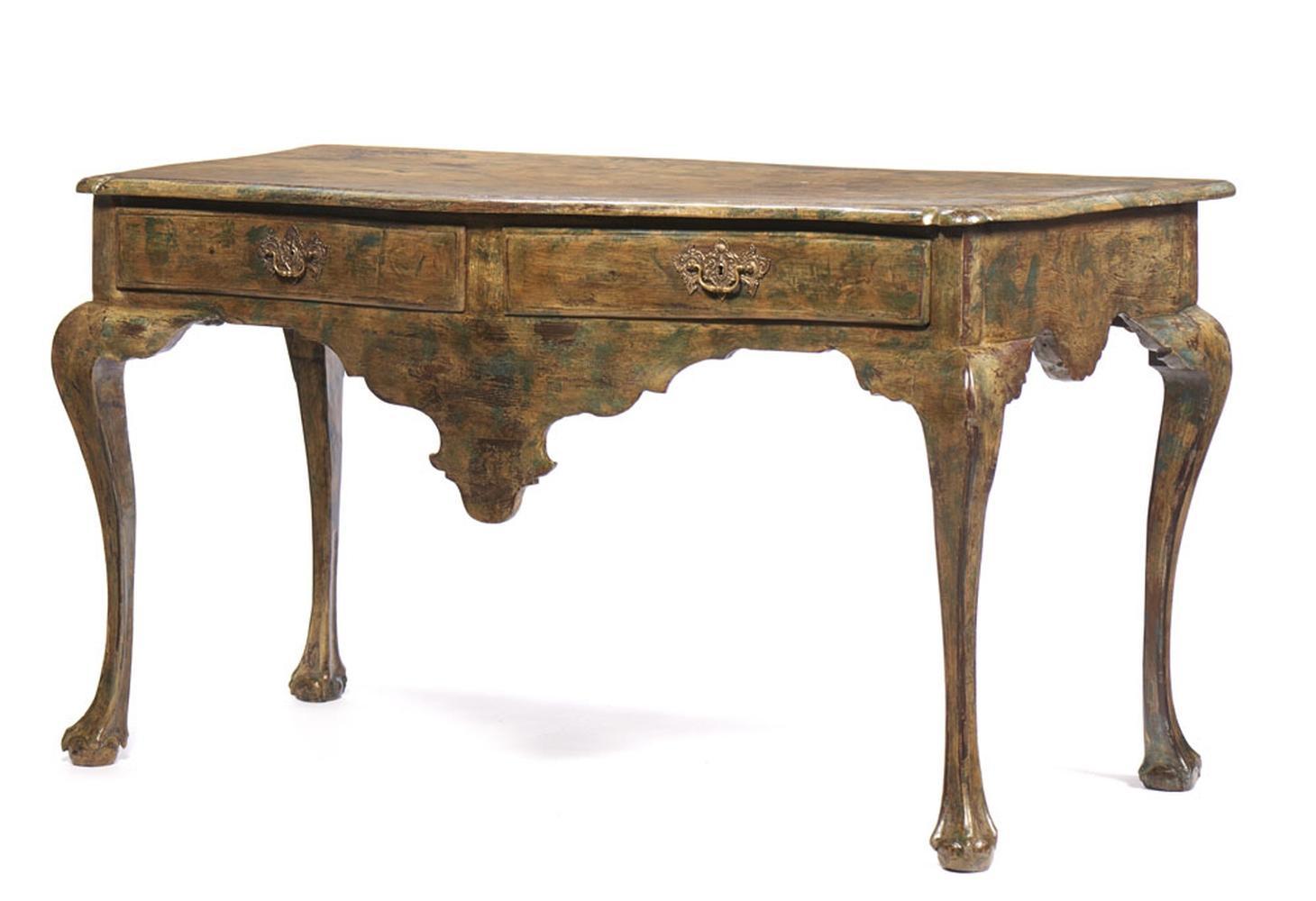 Grande mesa de encostar D. João V