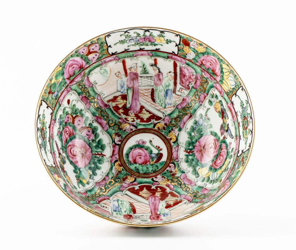 """Taça em porcelana chinesa """"Mandarim"""""""