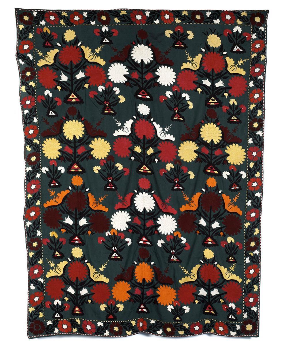 Bordado, Ásia central, 218 x 167