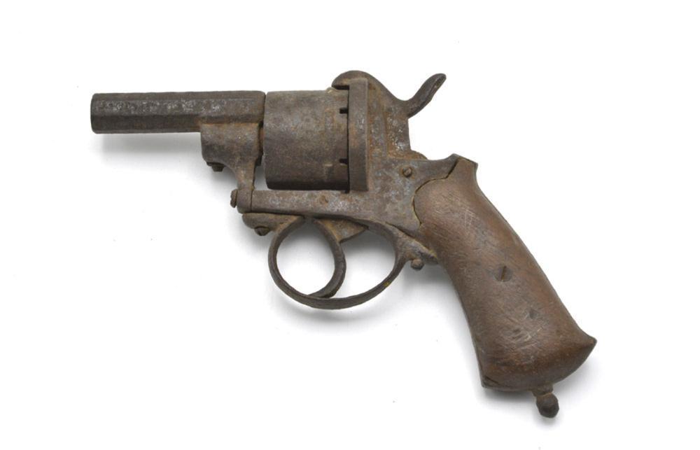 Revólver europeu da segunda metade do séc. XIX