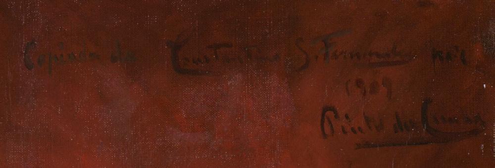 Cópia de C.FERNANDES, Óleo s/tela, 66 x 56 cm.