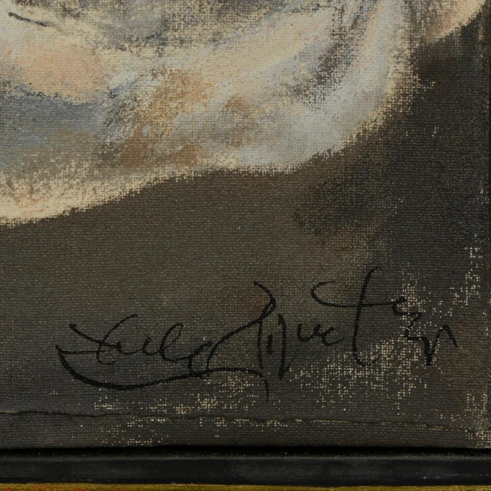 Autor n/ident., Óleo sobre tela, 30 x 26,5 cm.