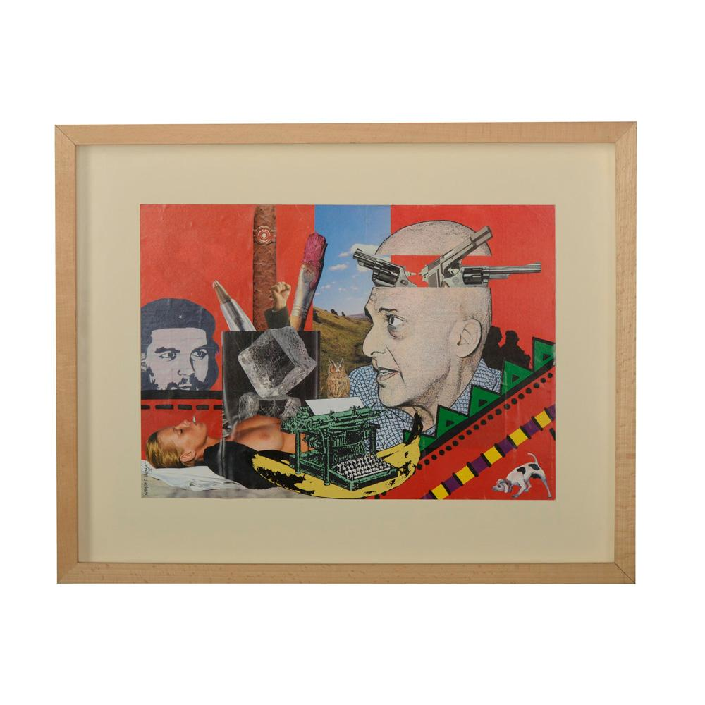 MANUEL VIEIRA, Téc. mista s/papel, 29 x 41 cm.