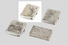 Cigarreira em prata 833%, do séc. XIX/XX, P.50g.