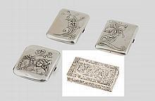 Caixa de rapé em prata, 833%, David Ferreira,P.8g.