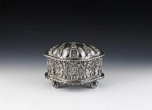 Caixa em prata possivel/ sul-americana, P.1844g
