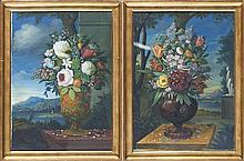 DAEL, Jan, Natureza morta c/flores, mista s/papel