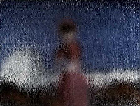 Noronha da Costa, acrílico s/tela,30 x 40 cm.