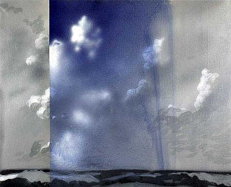 Noronha da Costa, acrílico s/tela, 130 x 160 cm.