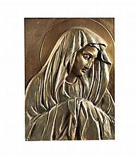 Antº Ribeiro, Nª Srª, Placa em bronze