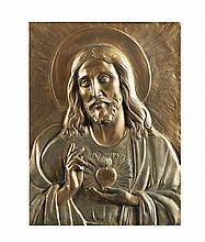 Antº Ribeiro,Sagrado Coração de Jesus,Placa bronze